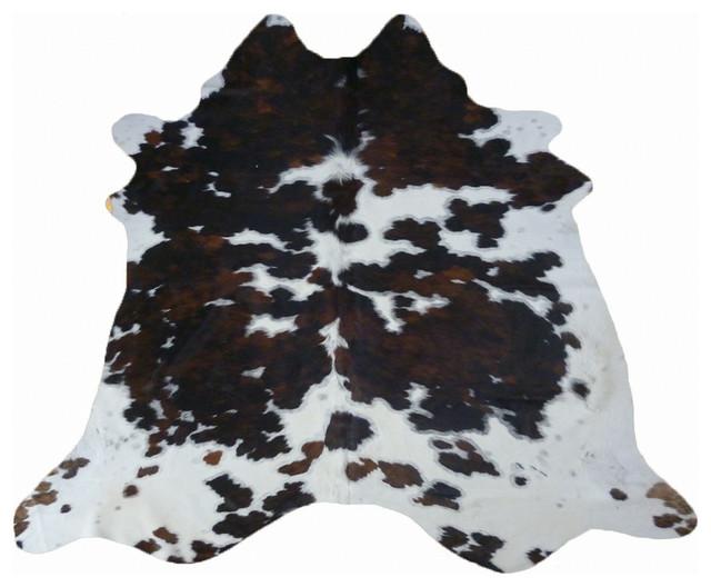 New York Tricolor Cowhide Rug Rustic Rugs By