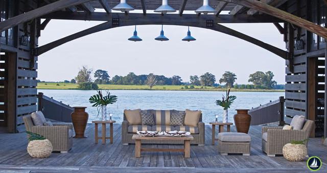 Sea La Vie! Beach Style Specific Outdoor Furniture beach-style