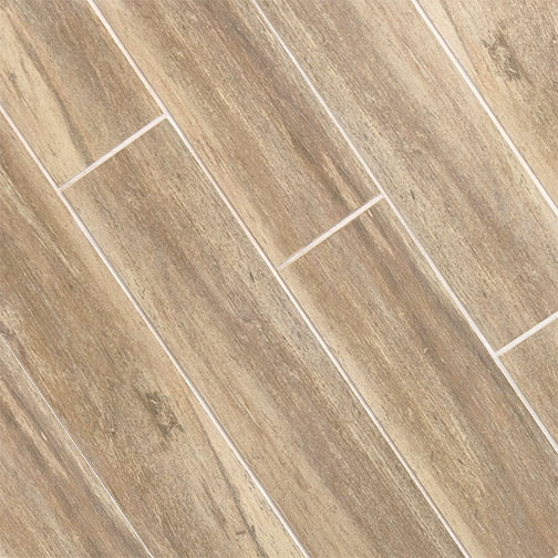 Birch Wood Plank Porcelain Modern Wall And Floor Tile Other
