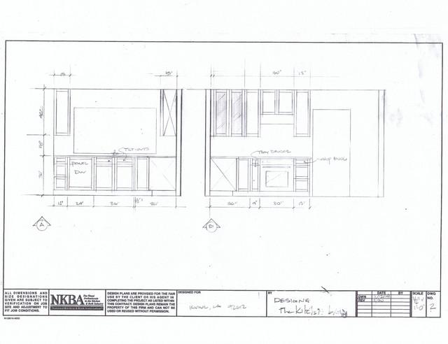 Contemporary Irvine Kitchen and Master  Bathroom Remodel contemporary-interior-elevation
