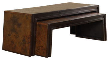 Accents Nesting Cocktail Table contemporary-coffee-tables