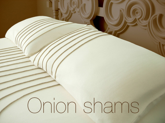 Wallter - Wool Pillow Shams Queen modern shams