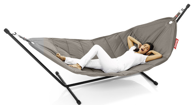 headdemock hammock by fatboy modern hammocks swing. Black Bedroom Furniture Sets. Home Design Ideas