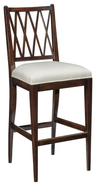 New Counter Counter Height Stool Black Wood traditional-bar-stools-and ...