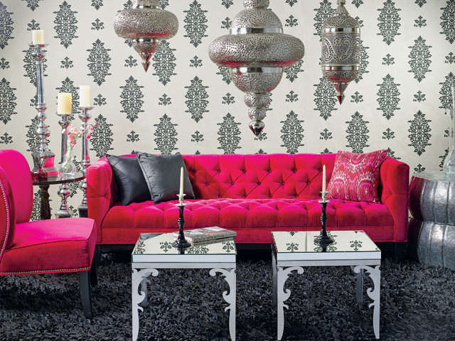 Roman Sofa - Moroccan Glam eclectic sofas