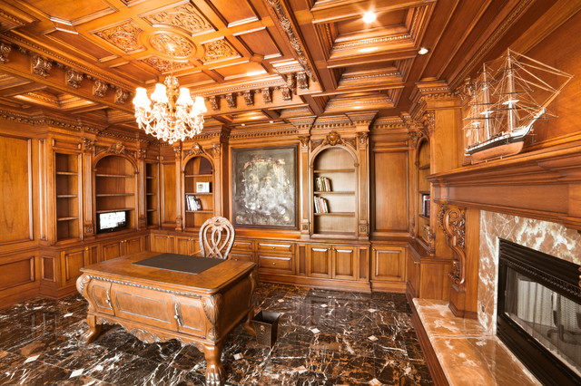 Luxurious & Unique Home Office traditional-home-office