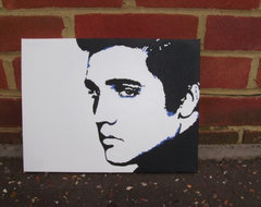 Elvis Presley by Micheal Gregory eclectic-artwork