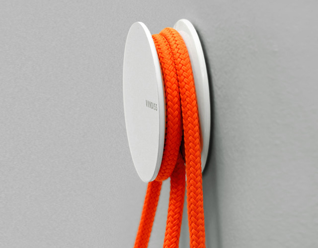 Diabolo Toilet Paper Holder by Vandiss contemporary-toilet-paper-holders
