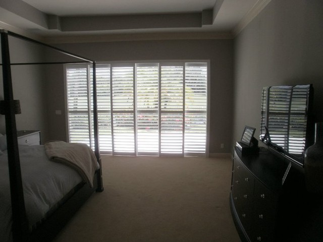 Shutters bedroom