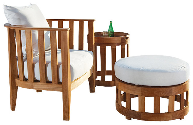 Kafelonia teak lounge furniture set modern patio for Modern day furniture
