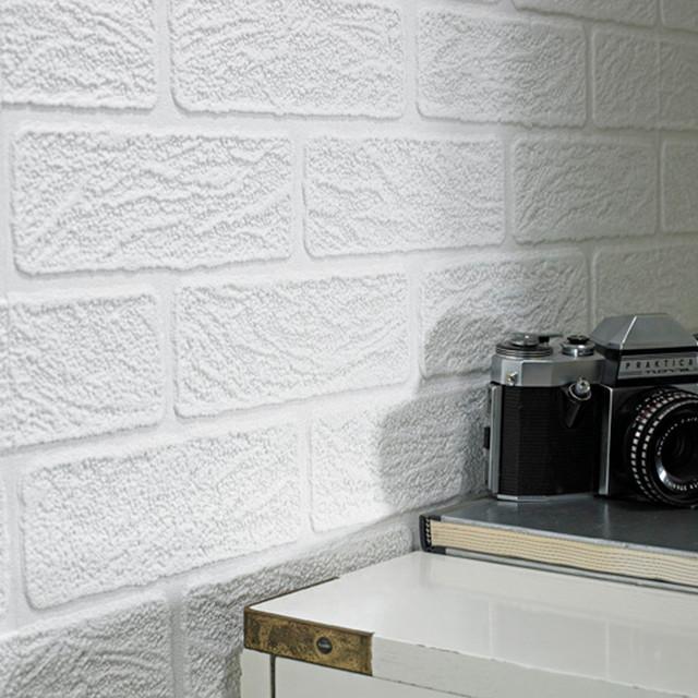 Brick Wallpaper contemporary-wallpaper