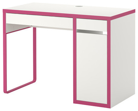 Micke Desk White Pink Contemporary Desks And Hutches By IKEA