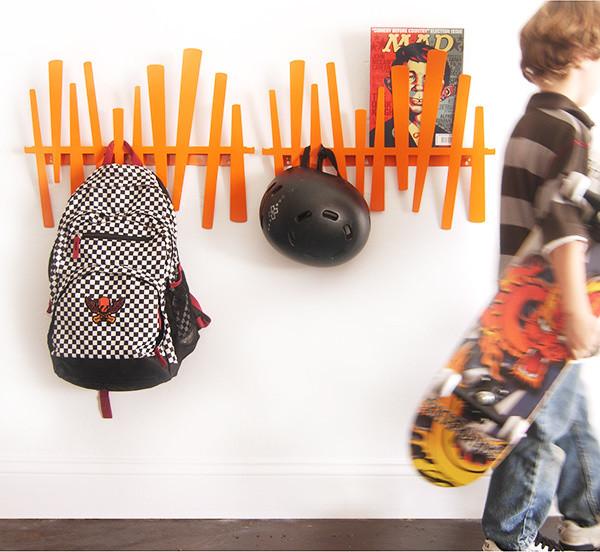 Slat Coat Rack - Wallter eclectic-wall-hooks