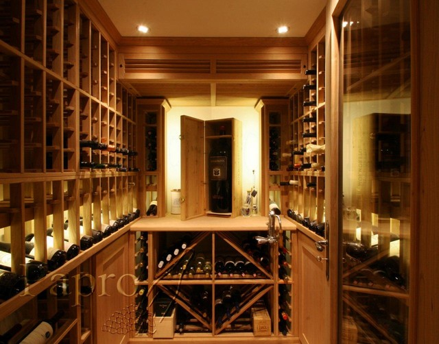 Small Space Wine Cellar traditional-wine-cellar