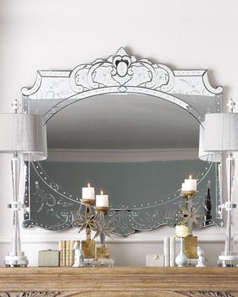 Elaina Mirror traditional-wall-mirrors