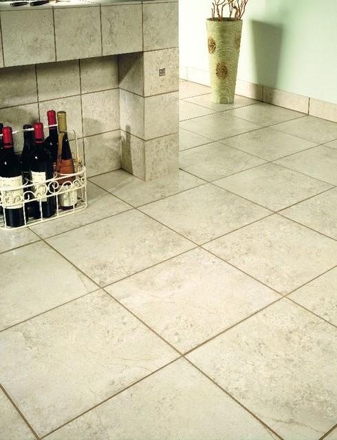Pan American Tiles Bellagio Series Ivory traditional-floor-tiles