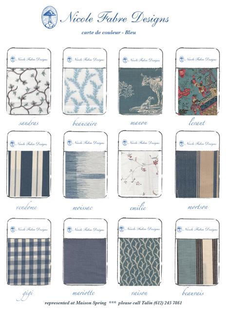 Nicole Fabre Designs fabric