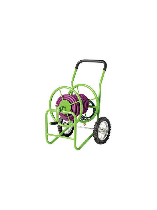 Deluxe Garden Hose Cart -