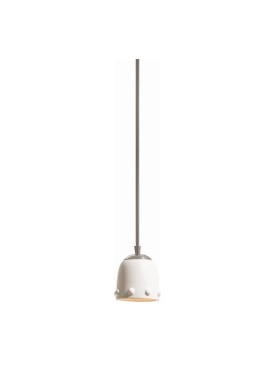 Arteriors Dots Small Ceramic/Brushed Nickel Pendant - Dots Small Ceramic/Brushed Nickel Pendant