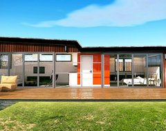 ARCHITECTURAL 3D RENDERING - SMALL HOME DESIGN contemporary-rendering