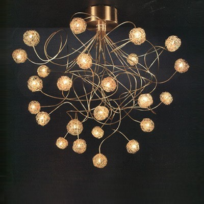 Soffione Four Lt Contemporary Chandeliers By Lightology