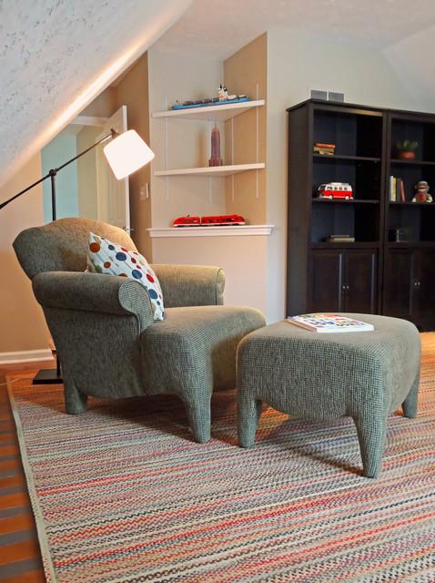 Modern Americana Family Retreat traditional-family-room