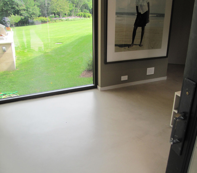 Concrete floor contemporary-flooring