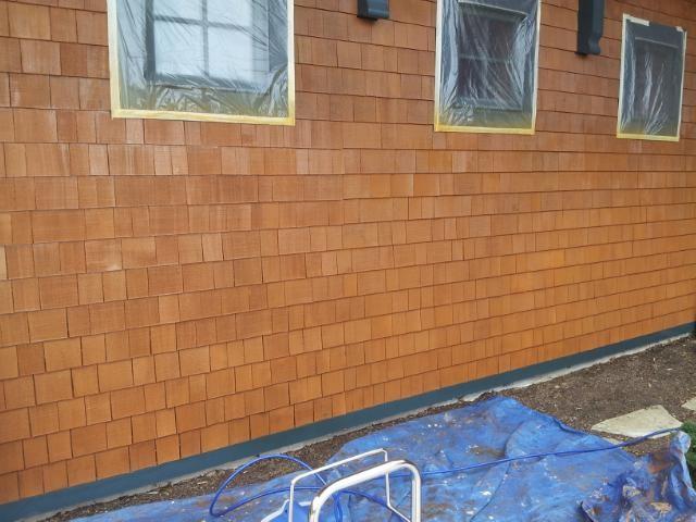 House Exterior Stain Cedar Shingles