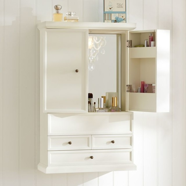 Simple Charm And Practicality Come Together In Perfect Harmony With This Wall Cabinet It Adds Storage To Any Space With Its Two Nantucketstyle Doors And Two Pullout