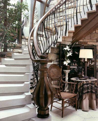 Lloyd Residence staircase