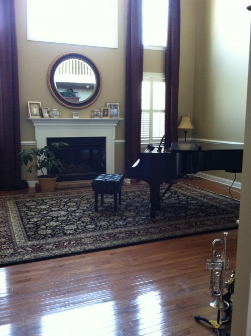 How Can We Decorate Around This Grand Piano This Room Is