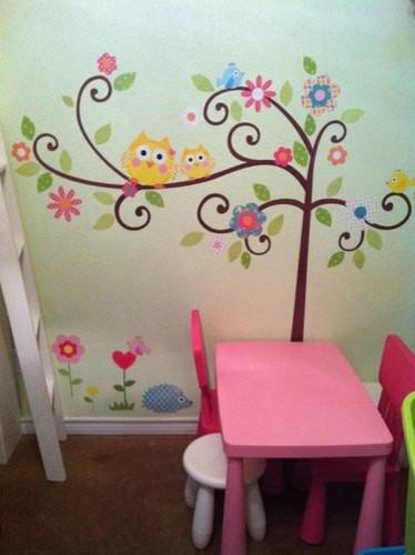 Baby 39 s nursery and children 39 s bedroom one mural many for Como pintar un mural en la pared