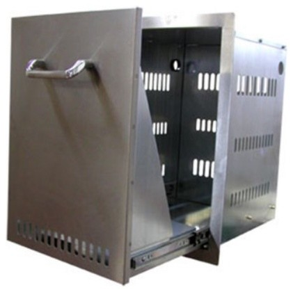 The Propane Drawer - Stainless Steel makes changing tanks a piece of cake, m contemporary-outdoor-grills