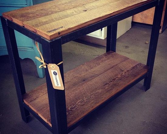 Reclaimed Wood Side Table - Reclaimed Wood Side Table