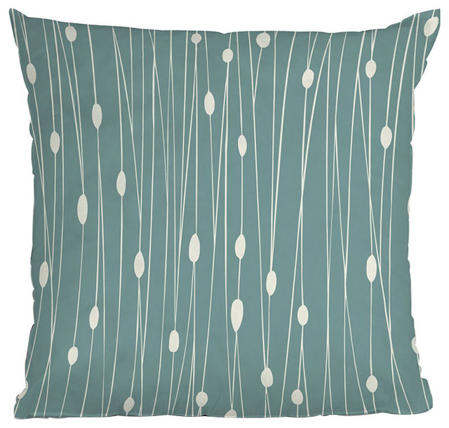 DENY Designs Heather Dutton Entangled Throw Pillow contemporary-decorative-pillows