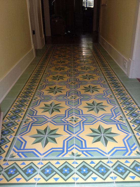 Gran Cordoba from Avente Tile - Luscen Custom Handmade Cement Tile Project -