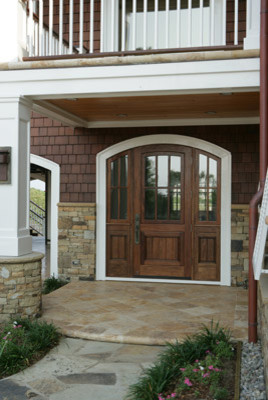 Rawl Residence traditional-entry