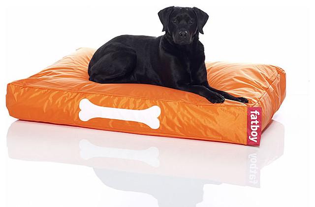 Fatboy Doggy Boy Large Bed - color: orange modern-pet-supplies