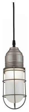 Barn Light Wire Guard Industrial Pendant industrial-pendant-lighting