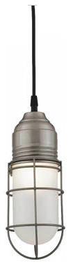 Barn Light Wire Guard Industrial Pendant modern-pendant-lighting