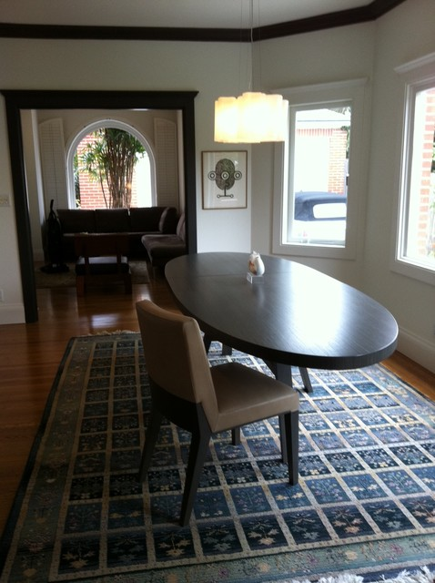 AFTER- Dining Room colors by Shannon Kaye traditional-dining-room