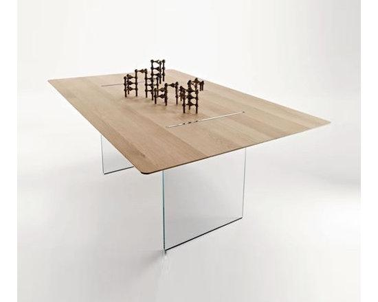 Tonelli - Tonelli   Tavolante Dining Table, 71in. - Design by Marco Gaudenzi, 2009.