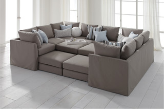 Large Sectional Couch Sectional Sofas - by