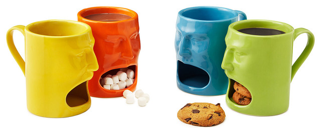 Warm Or Cool Face Mugs Eclectic Mugs By Uncommongoods