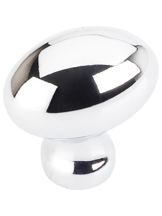 Jeffrey Alexander [3990-PC] Die Cast Zinc Cabinet Knob - Football - Bordeaux Ser - This polished chrome finish cabinet knob with football design is a part of the Bordeaux Series from Jeffrey Alexander. A perfect blend of craftmanship in traditional and contemporary design to complement any decor.