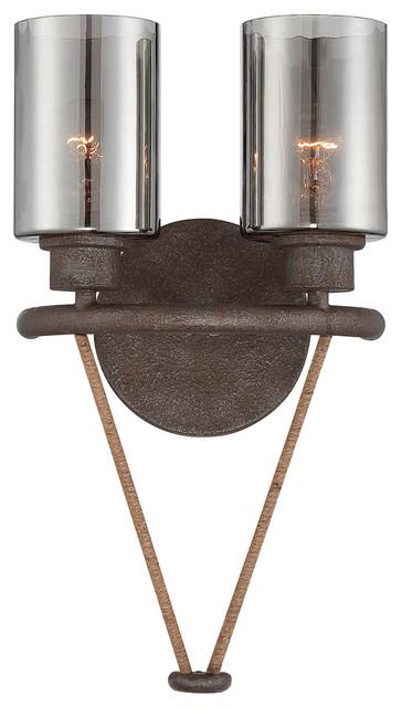 Savoy House 9-5153-2-32 Maverick 2 Light Sconce contemporary-wall-sconces