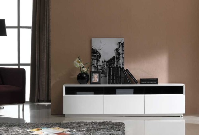 New Design For High Gloss Bed : White High Gloss - Modern - Entertainment Centers And Tv Stands - new ...