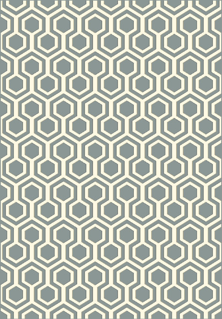 Dynamic Rugs Trend 6.7X9.6 89443-5969 Light Grey contemporary-area-rugs