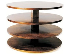Circular Side Table by Gregori Warchavchic modern side tables and accent tables
