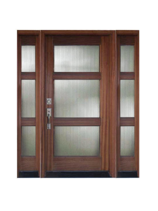 Contemporary Modern Front Entry Doors